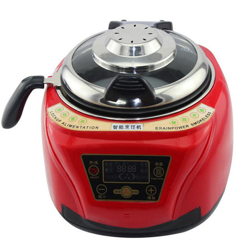 Household All Intelligent Food Cooking Machine Automatic Meat Vegetables cooking pot Multi cooker Frying Pan stylish sushi tool vegetables combine with meat sushi machine