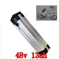 מתח גבוה 1000 W סוללת ליתיום אופניים חשמליים הסוללה 48 V 13Ah 48 v עם מטען 2A 30A BMS סוללה אופניים אלקטרוניים 48 v משלוח חינם