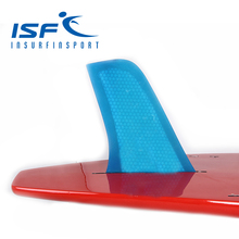 blue surfboard longboard fins quilhas paddle surfboard Fcs fins carbonfiber 4 Quad FCS future fin