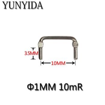 01-11 20 pz Costantana resistenza/resistenza di campionamento 10 milliohms/0.01R/10mR/passo 10mm/diametro di 1mm