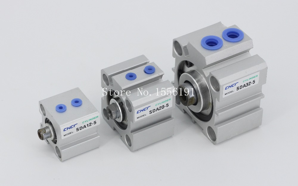 SDA 25*100 Airtac Type Aluminum alloy thin cylinder,All new SDA Series 25mm Bore 100mm Stroke купить