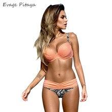 2017 traje de baño atractivo plavky bikini bikini brasileño sexy cintura baja ladies traje de baño maillot de bain traje de baño de la vendimia