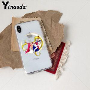 Image 4 - Yinuoda סיילור מון TPU רך גומי מקרה טלפון כיסוי עבור iPhone 8 7 6 6S בתוספת X Xs Xr xsMax 5 5S SE 5c Coque