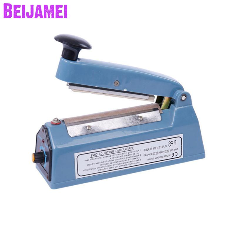 Us 18 24 6 Off Beijamei Portable Heat Sealers Manual Plastic Bag Impulse Sealing Machine Mini Home Sealer For In Vacuum Food