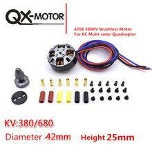 QX-MOTOR QM4208 380/580/680KV 3508 безщеточный для RC Multirotor Квадрокоптер Hexa Drone Бесплатная доставка