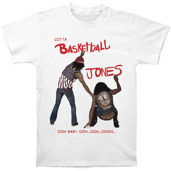 33637c39 Cheech & Chong Мужская баскетбольная футболка Jones средняя Белая Летняя  футболка