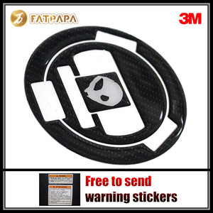 Motorcycle Accessories 3D Carbon Fiber Tank Gas Cap Pad Filler Cover Sticker Decals Fit For BMW S1000RR S1000 RR S1000R S1000 R(China)
