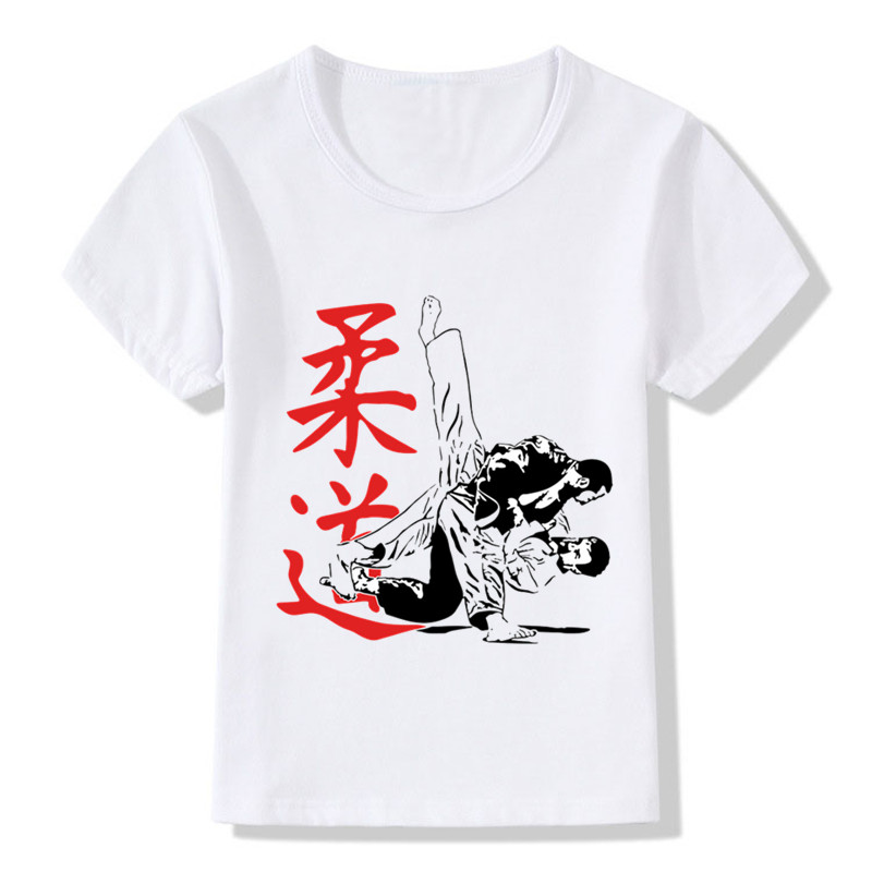 Baby Boys & Girls Evolution Of A Judo T-shirt Sommar Barn Toppar - Barnkläder - Foto 3
