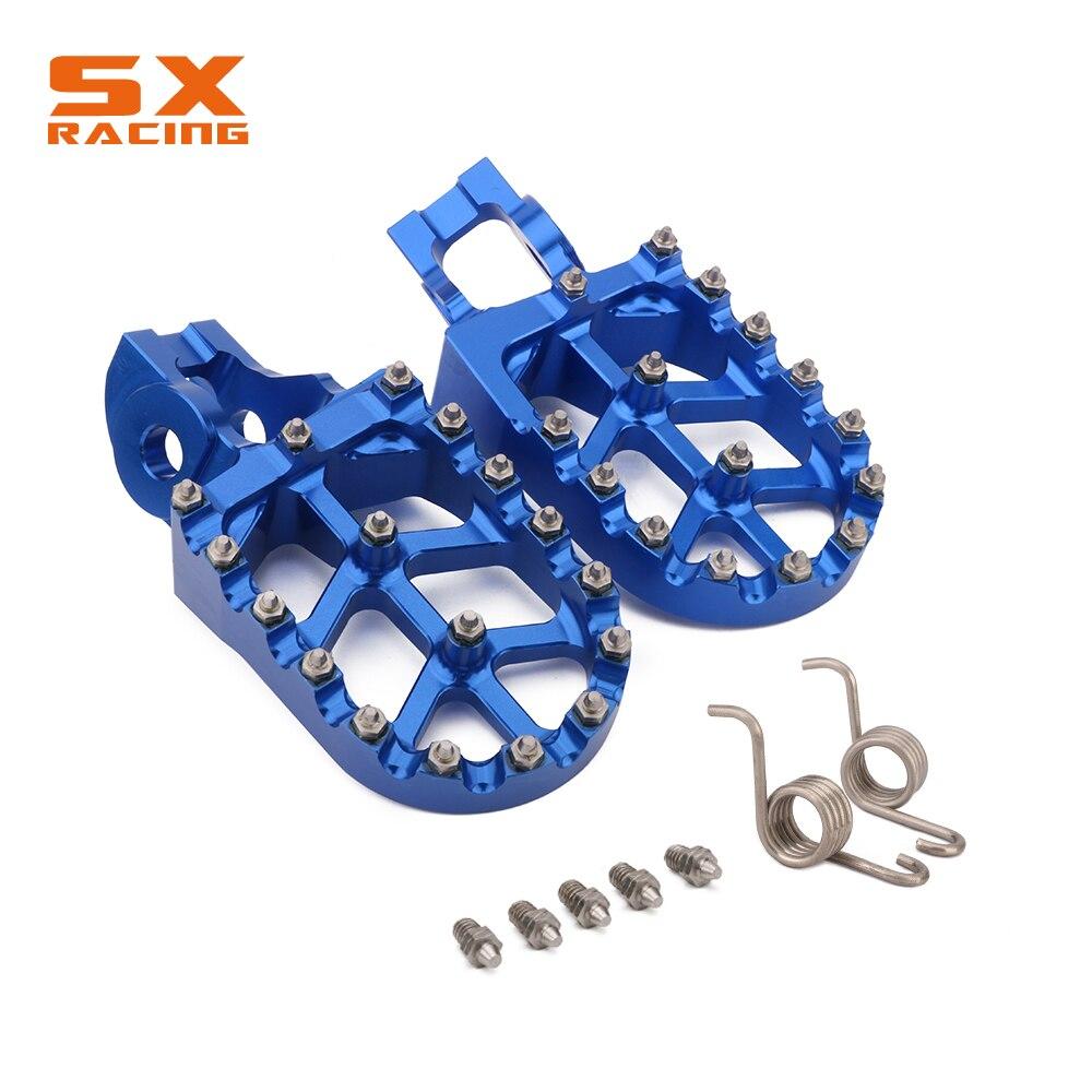 Aluminum Foot Pegs Footpeg Pedals Rest For HUSQVARNA TC125 FC 250-450 16 17 TC250 TE FE 150-501 TX125 TX FX 300-450 2017 2018Aluminum Foot Pegs Footpeg Pedals Rest For HUSQVARNA TC125 FC 250-450 16 17 TC250 TE FE 150-501 TX125 TX FX 300-450 2017 2018