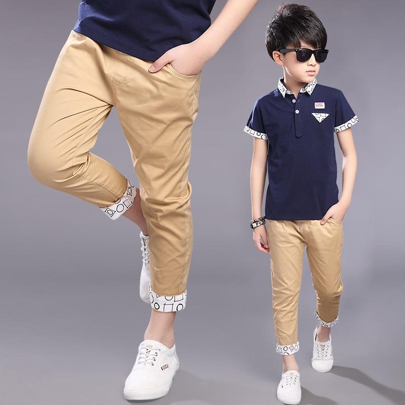 Aliexpress.com : Buy Capri Pants Kids 2016 summer baby Boys ...