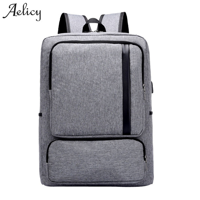 1cfb7bb17f1 Aelicy Luxury Anti Theft Business Laptop Backpack with USB Charging Port  Unisex Leisure Travel Backpack School Bags mochila men