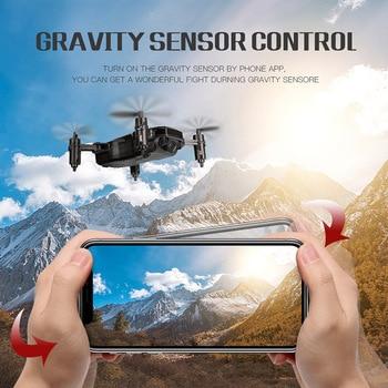 2,4 GHz de 4 canales quadcopter aviones UAV alto rendimiento plegable altitud luz LED control remoto avión