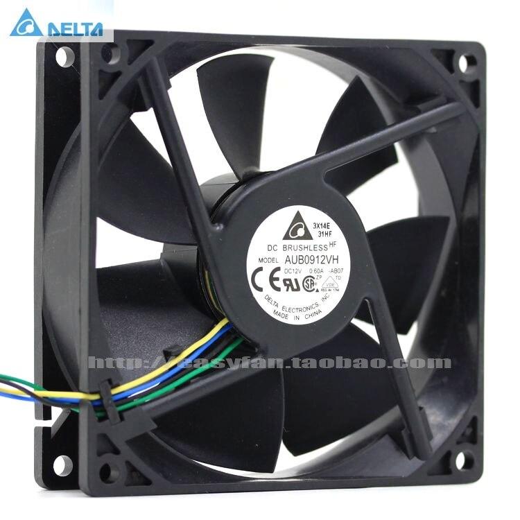 Вентилятор охлаждения процессора delta AFB0912VH = AUB0912VH 9 см 90 мм 90*90*25 мм 9225 постоянного тока 12 В 0,60a 4 контактный компьютер pwm|cpu cooling fan|cooling fancpu cooling | АлиЭкспресс