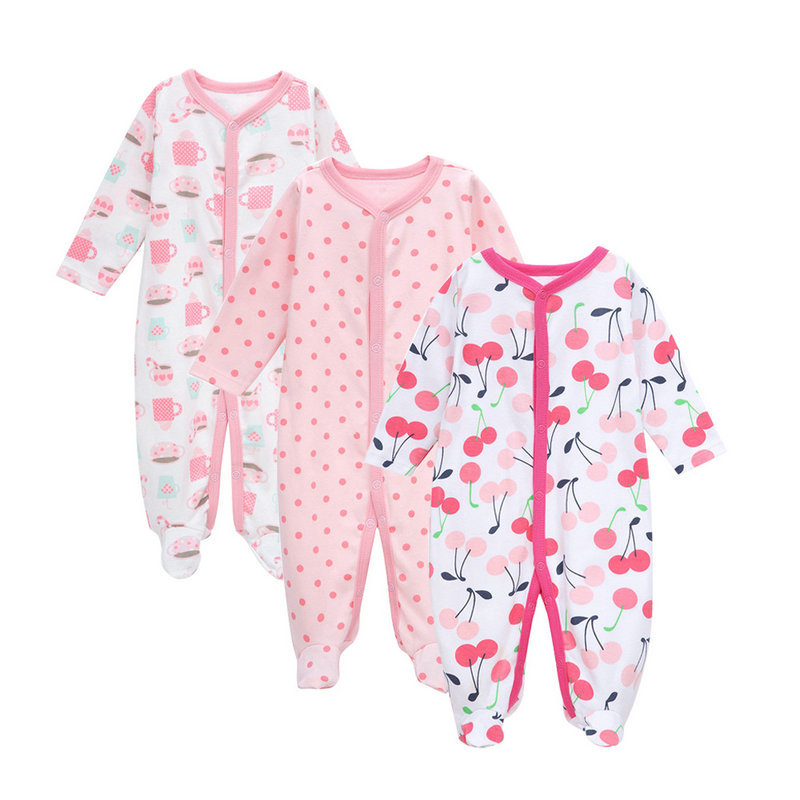 6b81a1f6ecd Best buy Vlinder 2017 3Pcs Newborn girls Spring clothes winter Jumpsuit  infantil menino Autumn Soft Baby rompers long sleeve onesie kids online  cheap