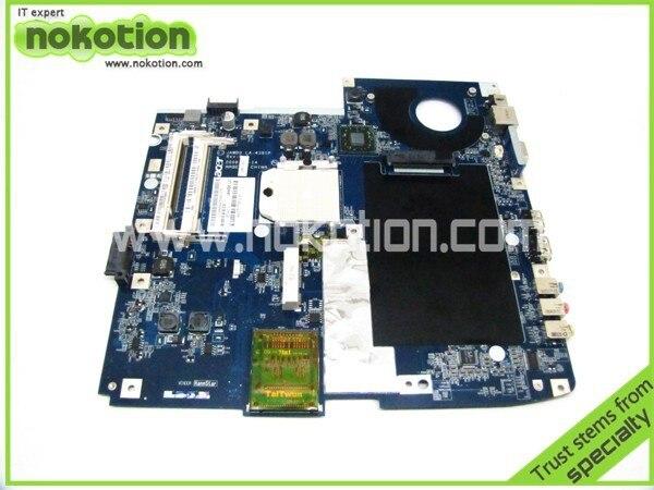 ФОТО On sale MB.BTEST.002 laptop motherboard for acer aspire 5530 5230 JAWD0 LA-4391P amd ddr2 socket s1 MBBTEST002