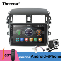 Mirrorlink Android Bluetooth Car Multimedia MP5 Player 2DIN For Toyota Corolla E140/150 2008 2009 2010 2011 2012 2013 No Android