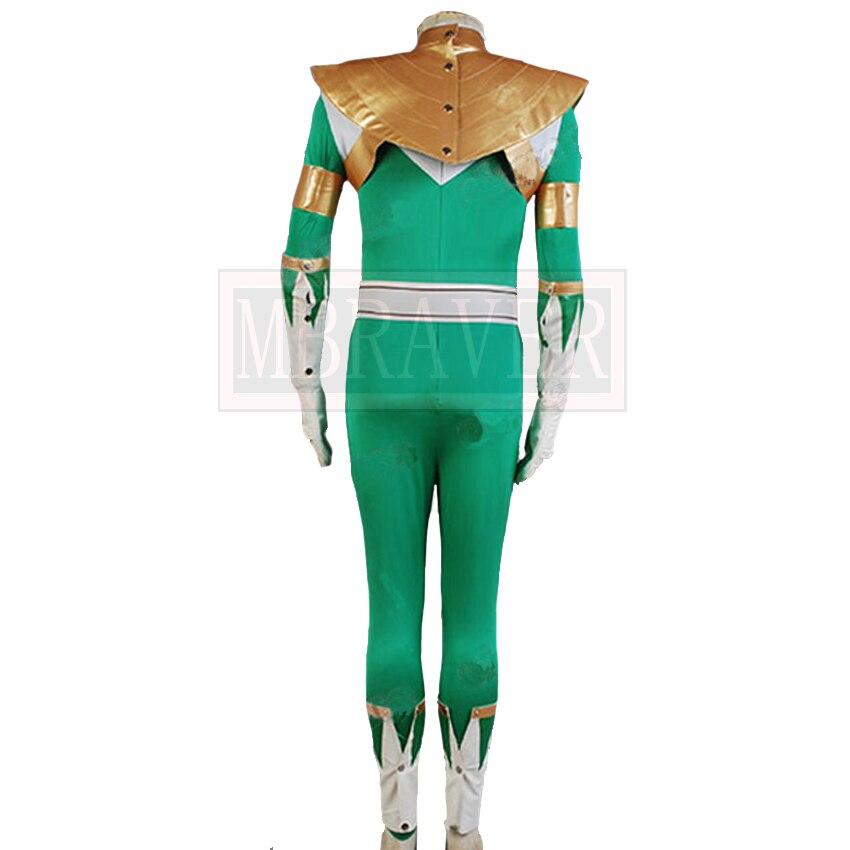 Mighty Morphin Power Rangers Cosplay Costume Dragon Ranger Mighty