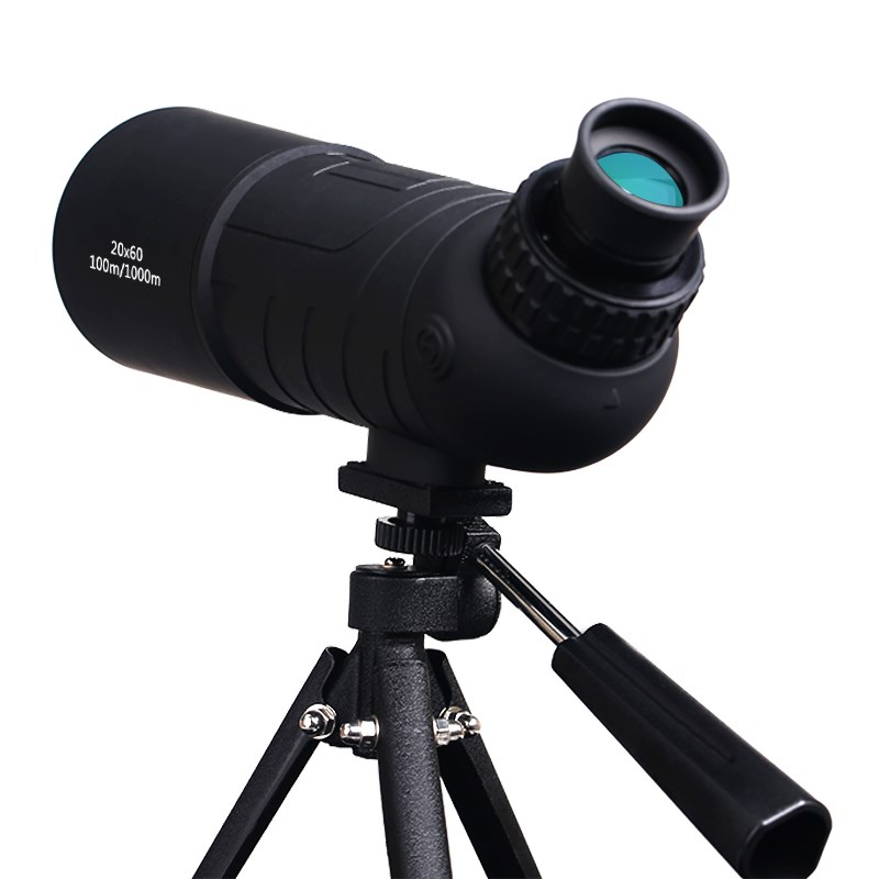 SUNCORE traveler 20x60 HD monocular BK7 prism FMC coating film high-power magnification bird watching telescope suncore water resistant 12 x 25mm monocular telescope