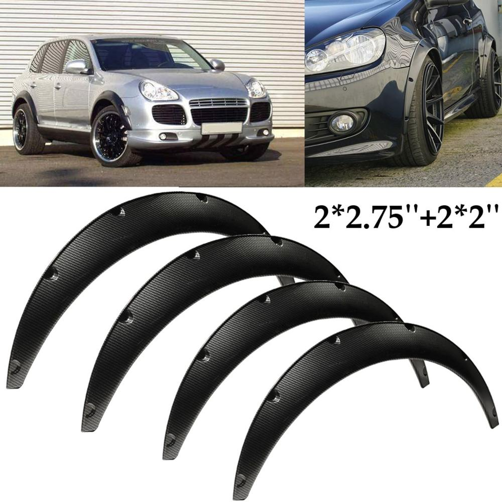 Carbon Fiber Flexible Car Body For Fender Flares Extension Wide Wheel Arches For Mazda/Nissan RX 7 200SX 240SX 300ZX 1980 2015