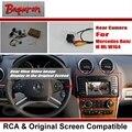 Back Up Câmera Reversa Para Mercedes Benz ML W164 ML350 ML450 ML300 ML250-Rear View Camera/RCA & Tela Original Compatível