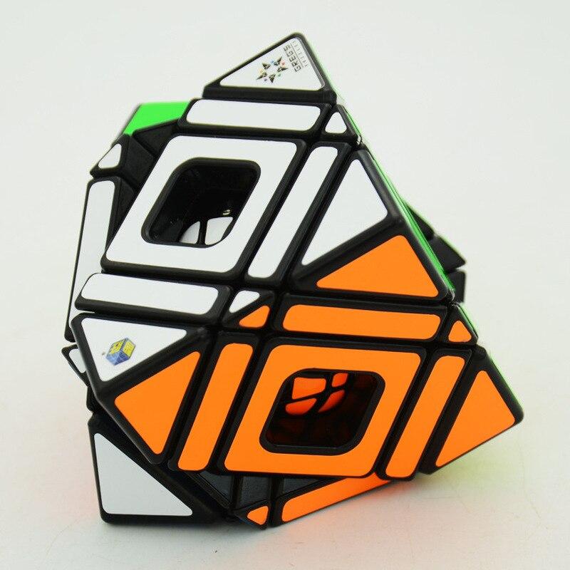 Nouveau Vesion YuXin Cube Multi Vitesse Drôle Cube Puzzle Multi-Skew Magique Professionnel Apprentissage et Éducatifs Cubos magicos Kid jouets - 4