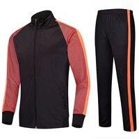 Adult and Kids Soccer Jerseys Sets Blank survetement Football Kits Leg Pants Men Futbol Sports Running training Suit tracksuit