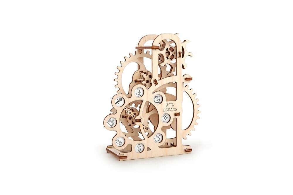 U gear Model dynamometer self propelled mechanical models mechanical wood model 3D Kit Freeshipping Chrismas gift