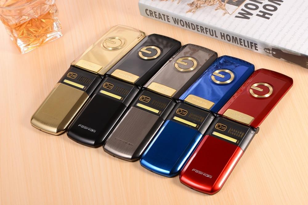 Image 5 - Luxury Flip Metal Senior Phone TKEXUN G9000 G3 Big Sound Big keyboard 1600mAh Flashlight bluetooth Old Man People Cell Phone-in Cellphones from Cellphones & Telecommunications
