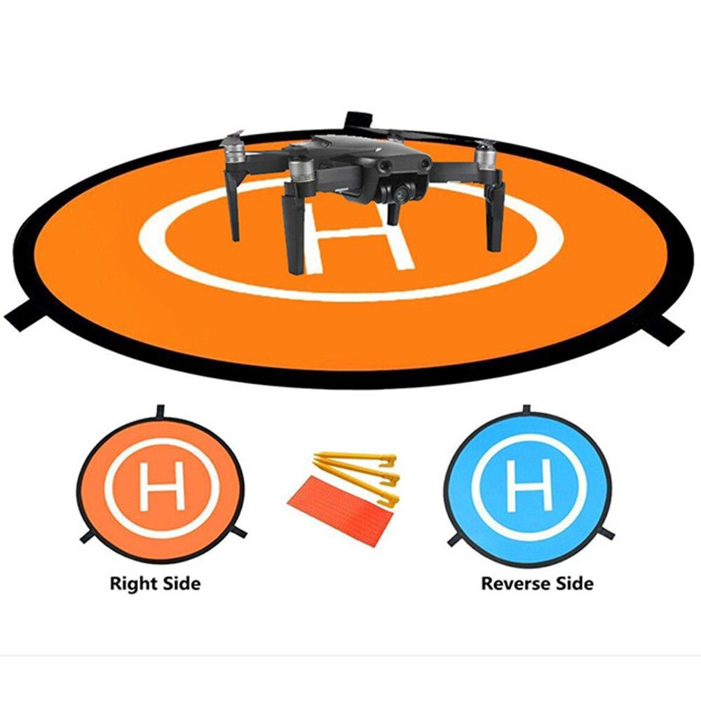 Drone Fast-fold Luminous Parking Apron Foldable Landing Pad 55CM For SG906/SG900S/jjrc X12/SJRC F11 PRO/MJX B4W Dron Accessories