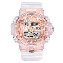 reloj mujer Fashion Luminous Electronic Alarm Clock Big Sport Watch Women Digital Student zegarek pandora &A