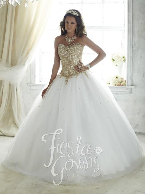 Vestidos De 15 Años Debutante vestido de Baile Vestido de Renda Branca para 15 Anos Baratos Vestidos Quinceanera 2016 Apliques de Renda de Ouro QD11