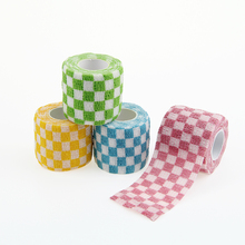 Self Adhesive Elastic Bandage Waterproof Sport Nonwoven Printing Cohesive for Finger Wrist First Aid 5cm*4.5m