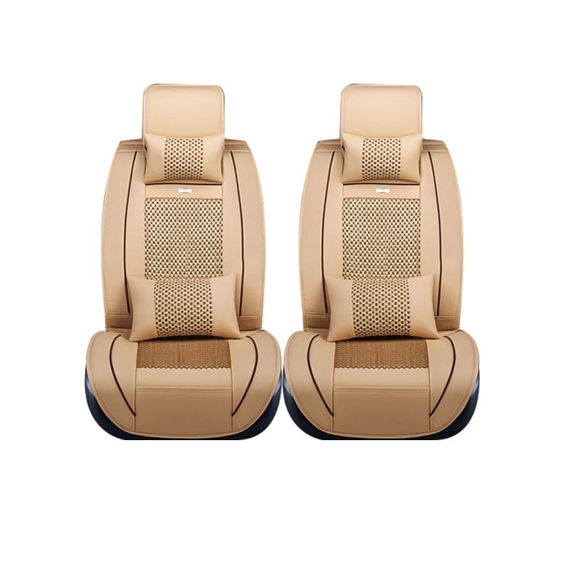 Специальный кожаный только 2 передних сидений для dacia все модели Sandero тряпкой Logan розовый автомобильные аксессуары авто подушки