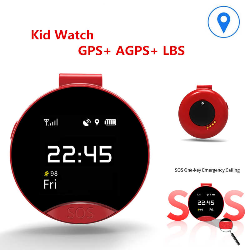 Kids Touch Screen GPS Smart Watch WIFI Positioning Children Old man Pocket watch phone SOS Baby Tracking Watch Anti Lost Tracker