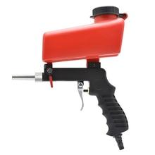 Маленькая пескоструйная машина портативная гравитационная пескоструйная пушка миниатюрная пневматическая пескоструйная установка устройство для обработки ржавчины