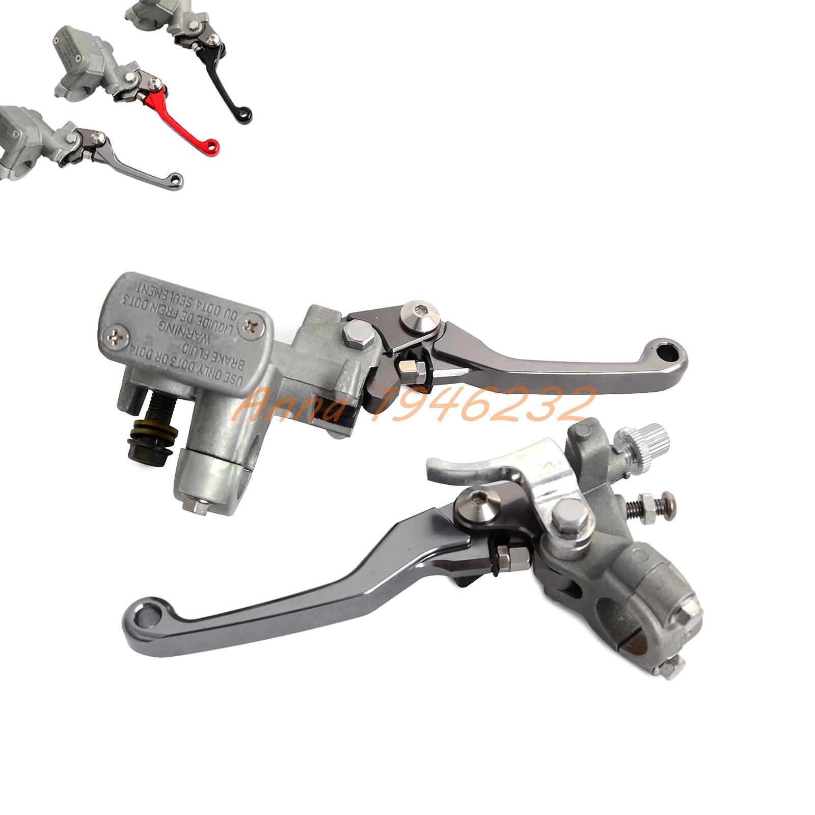 Тормозной главный цилиндр сцепления рычаг для Honda CR125R CR250R CRF250R 1996-2007/х 2004-2016 CRF450R 2002-2006 CR500R CRF150R