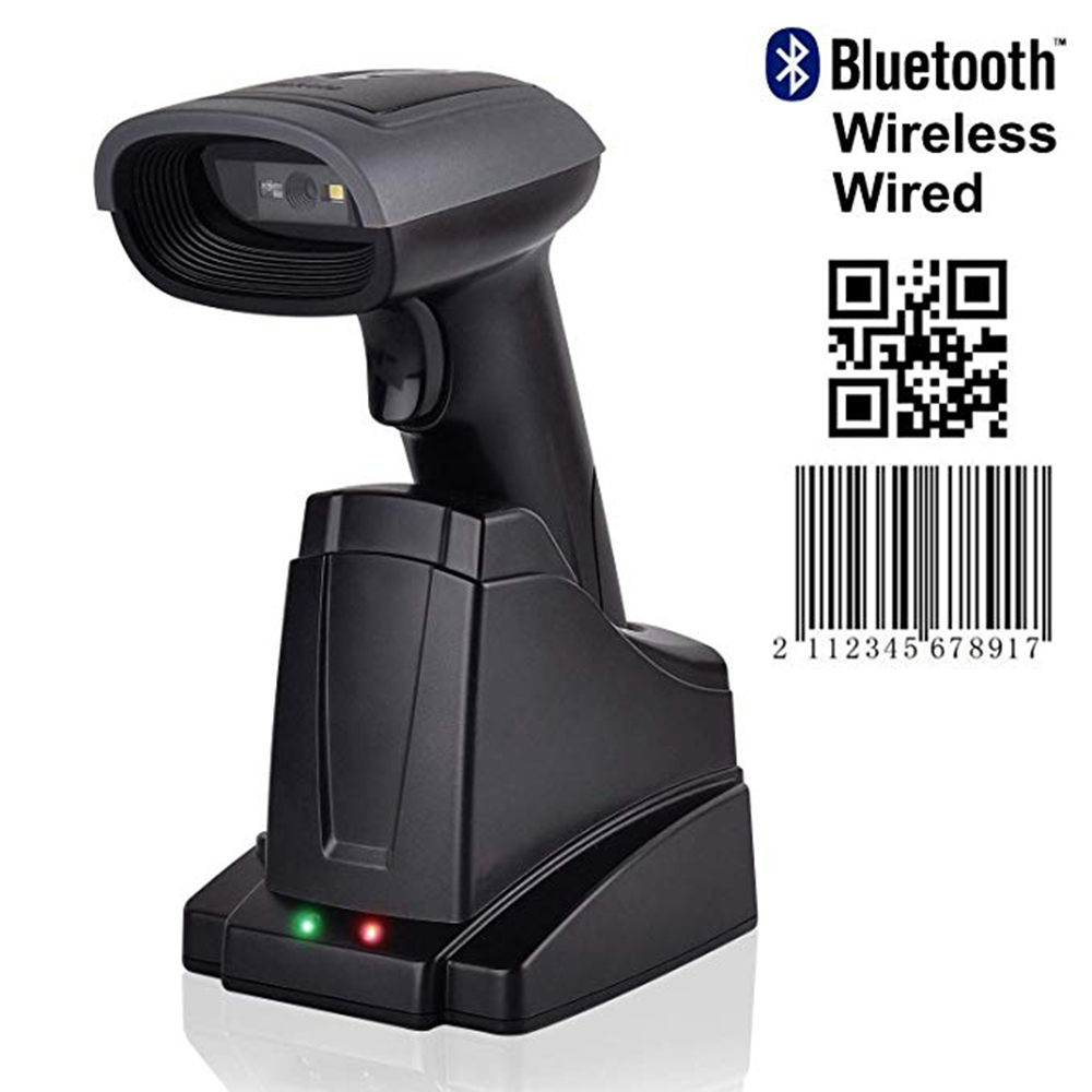Issyzonepos Bluetooth Wireless Scanner 2D QR Barcode Hand Free Mobile Payment Screen For Android iOS Windows Mac Auto ContinuousIssyzonepos Bluetooth Wireless Scanner 2D QR Barcode Hand Free Mobile Payment Screen For Android iOS Windows Mac Auto Continuous