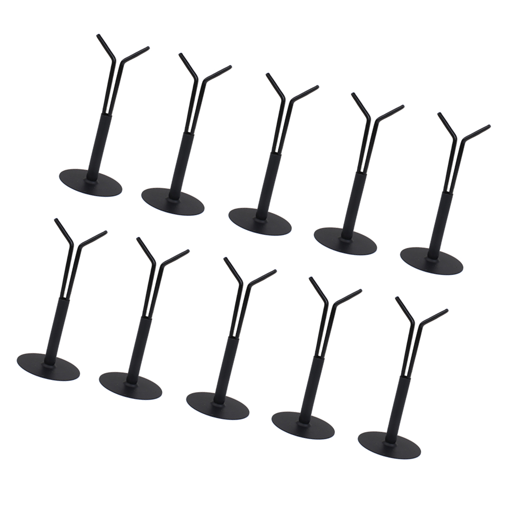 10Pcs 1//6 Y-Type Doll Holder Stand Base for 12/'/' HT Kumik Action Figure Accs