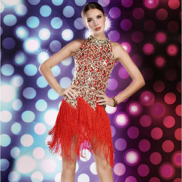 Леди взрослых латинские танцы Румба латинские танцы платье Samba Танго ча-ча конкуренция Танцы mordern Sexy Профессиональный костюм для женщин
