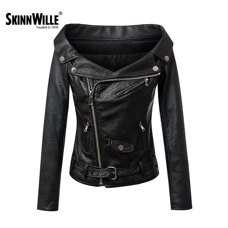 SkinnWille 2018 новый куртки женские ветровка женская пиджак женский кожаная куртка