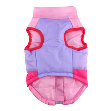 Fabulous, colorful padded puppy coat / vest