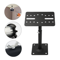 Wall Adjustable Speaker Brackets Heavy Steel Metal Ceiling Mount Extendable Brackets Durable Holder For Meeting Room