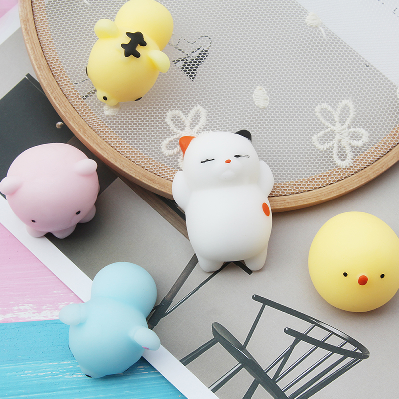 Cute Animal Gel Squishy Squeeze Fun Kid Toy Gift Healing Stress Reliever for Children Adult