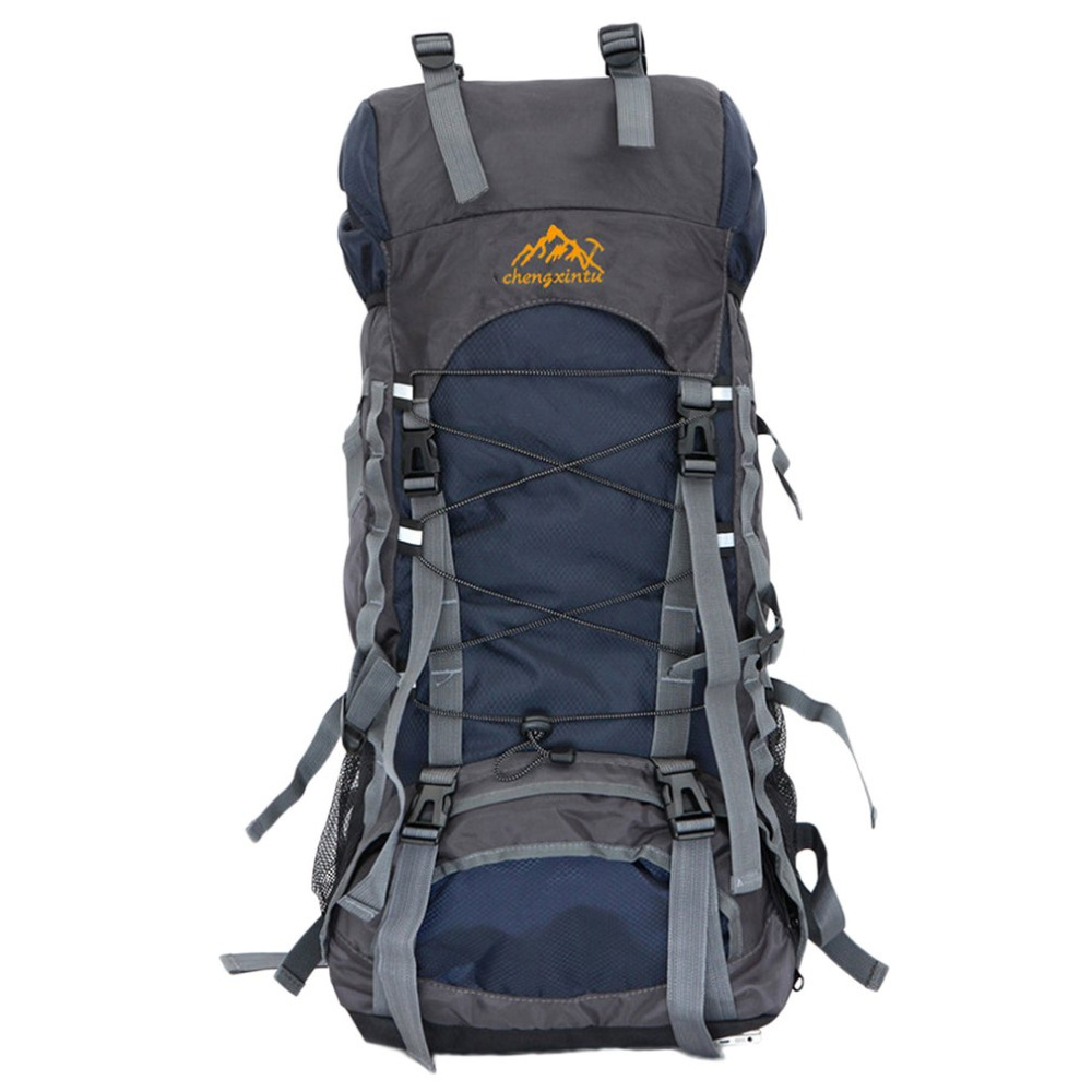 60L Large Capacity Outdoor Sports Mountaineering Backpack Internal Frame Hiking Camping Trekking Waterproof Shoulder Bags Hot