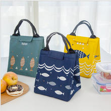 2018 New Fashion Hand Carry Picnic Cooler Bag Keep Food Fresh Thermos Large Bag Thermal Food cooler Bag Ice Pack Lunch Bags(China)