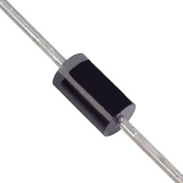 100 pièces 1N4002 100V 1A DO-41 Diodes de redresseur de silicium de plomb Axial