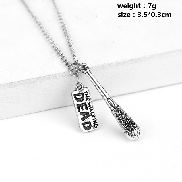 The Walking Dead Lucille Baseball Bat Necklace