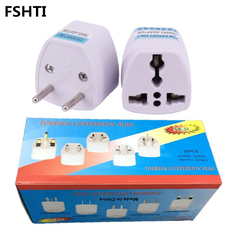 100pcs Us Eu Au Uk Plug Adapter United