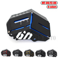 6 Colors Motorcycle Radiator Water Coolant Resevoir Tank Guard Cover For YAMAHA MT-09 MT09 MT 09 FZ-09 FZ09 FZ 09 2014 2015 2016