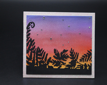 ZhuoAng Sunset design cutting mold DIY scrapbook album decoration supplies transparent sealing paper card